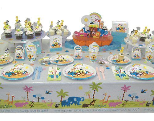 noah 39 s ark baby shower theme noah 39 s ark party supplies baby showe