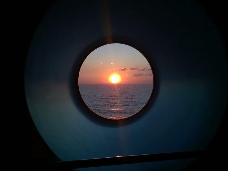Auringonlaskun taikaa.