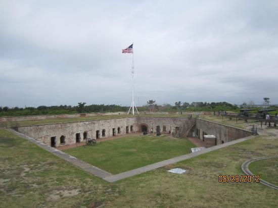 Atlantic Beach, NC: Fort Macon been here also :)