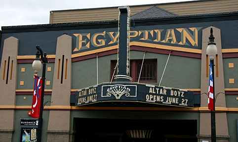 "Egyptian Theater, Park City, Utah - During the time when it was ""The Dewy Theater"", an aspiring, 21 yr old actor passed when aiding in the rescue of mine workers and it's said that he might be the entity responsible for the activity, which includes, disembodied footfalls and screams, physical contact, doors flying open on their own and the apparition of a man that has been seen by staff, performers and visitors."