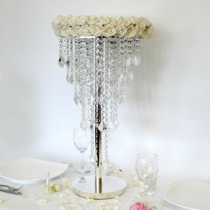 Best crystal clear wedding event styling images on