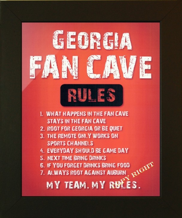 Uga Man Cave Signs : Best images about georgia bulldog man cave on pinterest