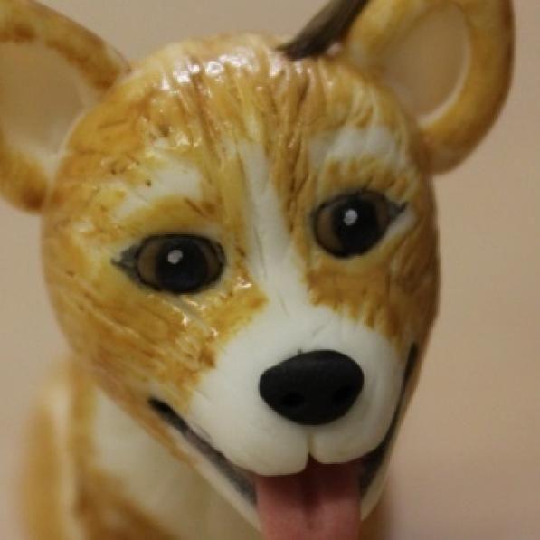 How To: Make a Fondant Dog Model