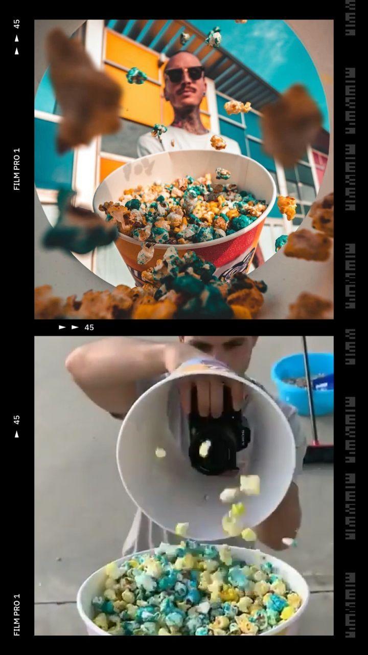 Идея для фото в Инстаграм с попкорном - Tik-Tok ...
