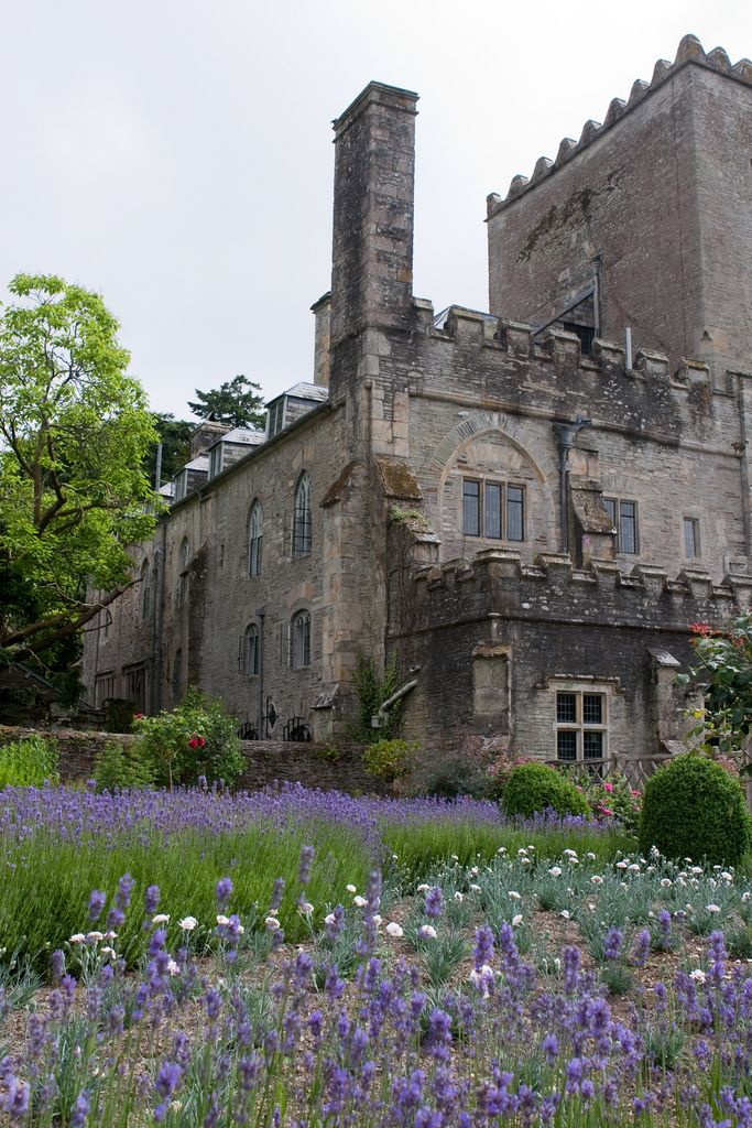 Forgotten Buckland Abbey...England. Crop and block for pastel inspiration.