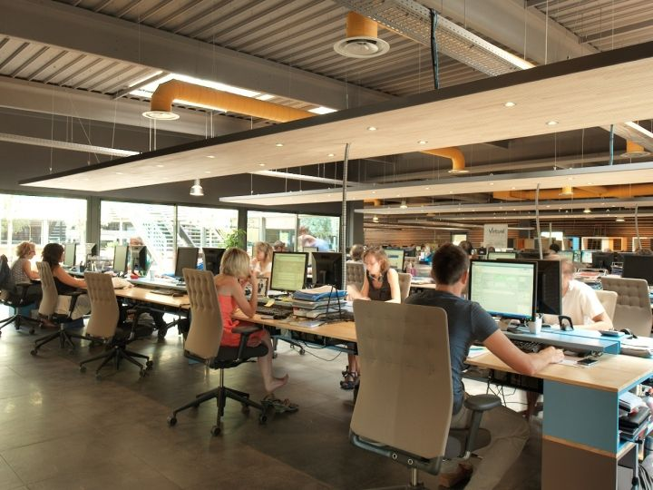 Open Work Environment | Client   KP_FCS | Open Space Office, Open Office  Design, Open Office
