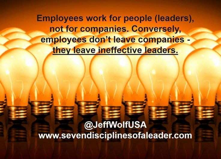 If you've left a job because of a horrible boss, you'll probably agree with this ... #leadershipdevelopment https://www.facebook.com/pages/Seven-Disciplines-of-a-Leader/704488592959512