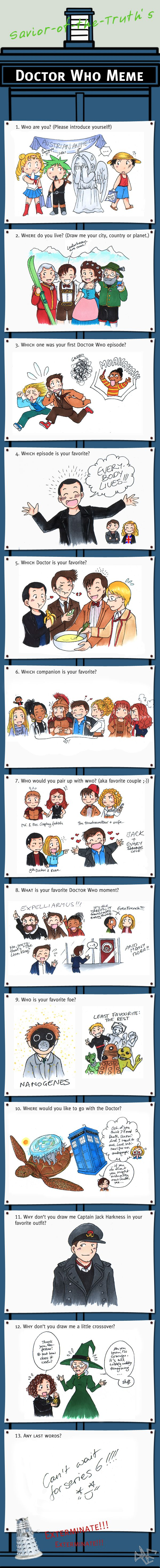 Doctor Who meme no.2 by akabeko on DeviantArt