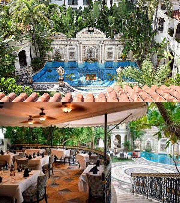 Gianni S Restaurant Versace Mansion Miami Beach Versace