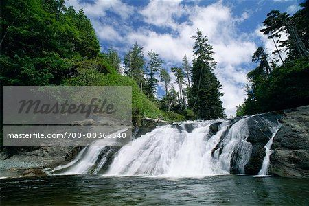 Calvin Falls, Nootka Trail, Nootka Island, British Columbia, Canada
