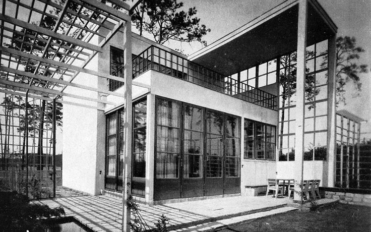 Residence of writer Arnold Zweig (1929-30) in Berlin, Germany, by Harry Rosenthal