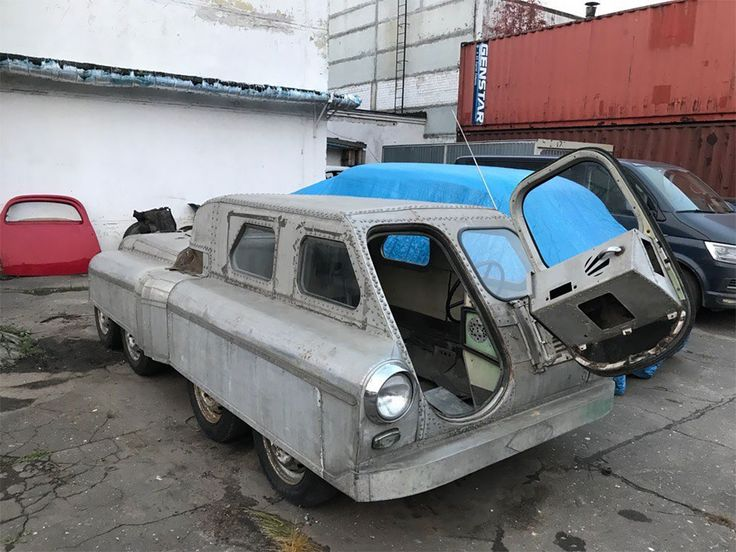 Soviet Mystery Amphibious Vehicle Has Been Discovered In Chelyabinsk