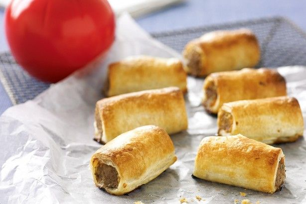 Everyone loves homemade sausage rolls and these ones taste extra good, especially with a good dollop of tomato sauce.