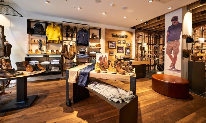Timberland store by ARNO, Sulzbach   Germany