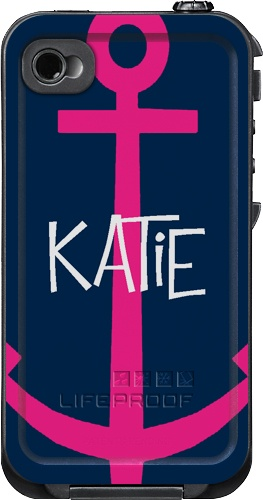 Anchor Monogrammed LifeProof Cases | Anchor Personalized LifeProof Case