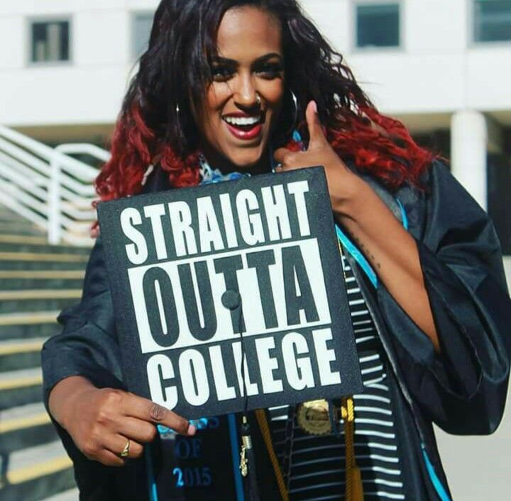 Graduate from college √  Got my B.A. √ CSUSB ℅ 2015 #GraduationCap