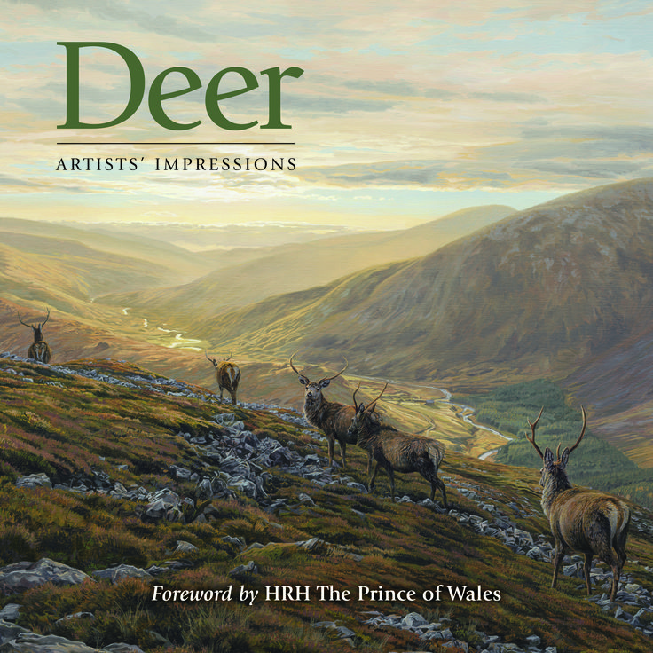 #Deer: Artist's Impressions. A great #gift for any #sporting #art enthusiast this #christmas.  In this book, 8 leading sporting artists each have their own chapter in which they portray deer in their own unique style. #country #books