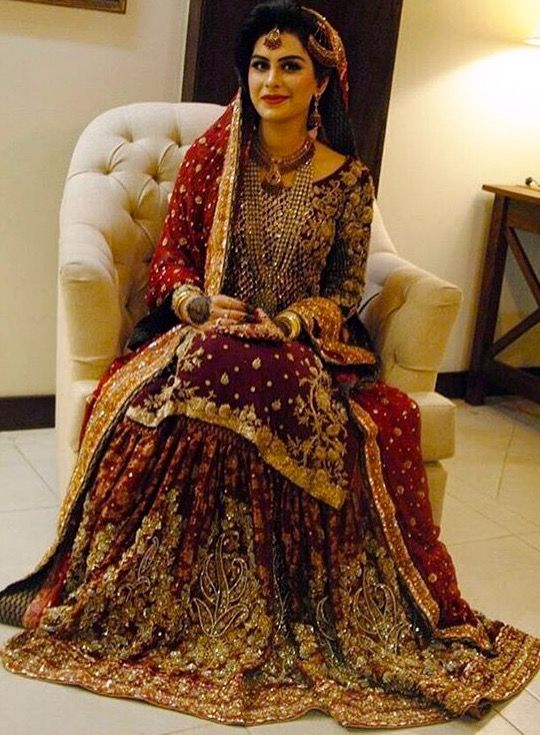 Bridal dress colors in pakistan best