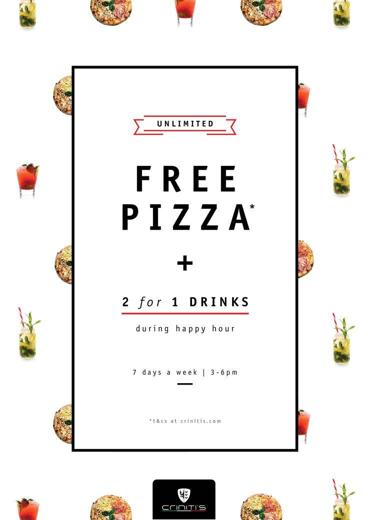 Italian Restaurant - Sydney, Melbourne & Newcastle |3-6 free pizza at Criniti's