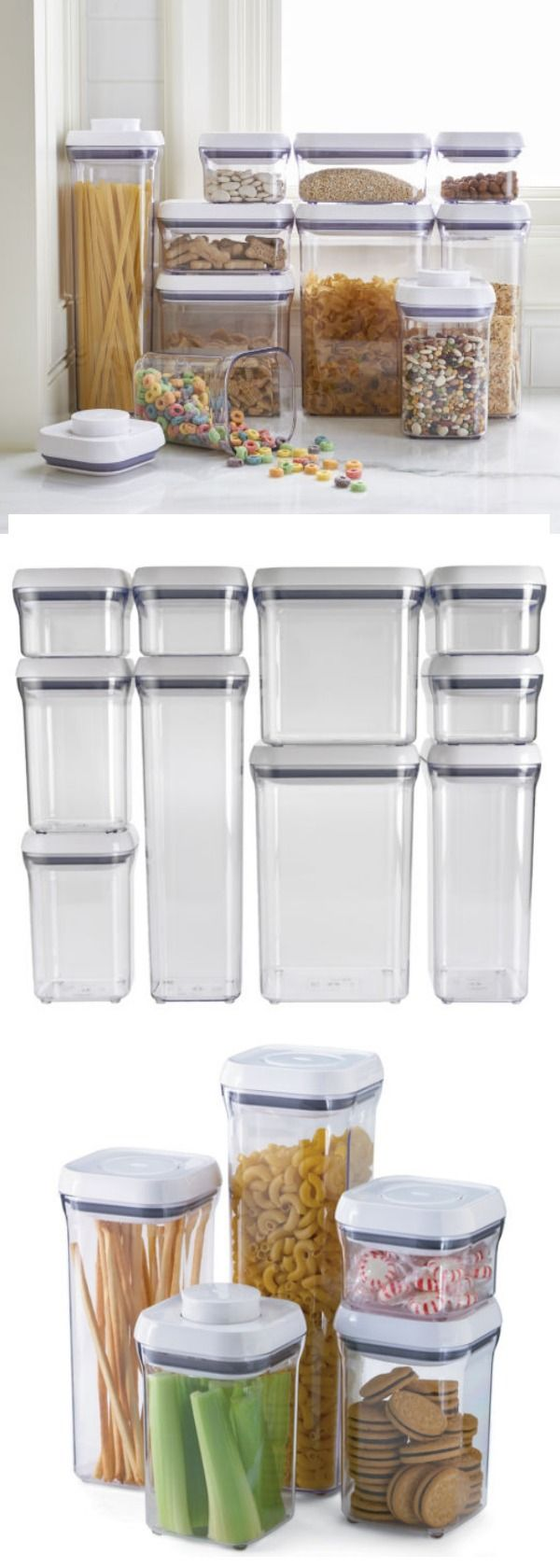 25 unique clear plastic containers ideas on pinterest - Plastic bathroom storage containers ...