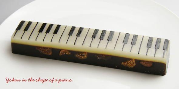 ジャズ羊羹 ピアノ鍵盤