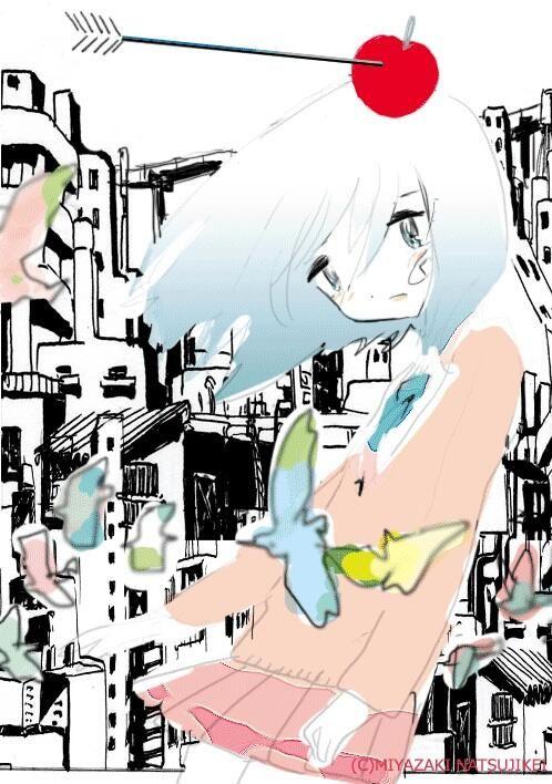 Twitter / natsujikeinfo: 宮崎夏次系先生が、『僕は問題ありません』のカバーイラスト案で ...
