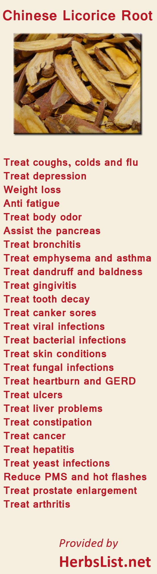 Health benefits of Chinese Licorice Root. Find our how herbs can help you @ drmalikov.com