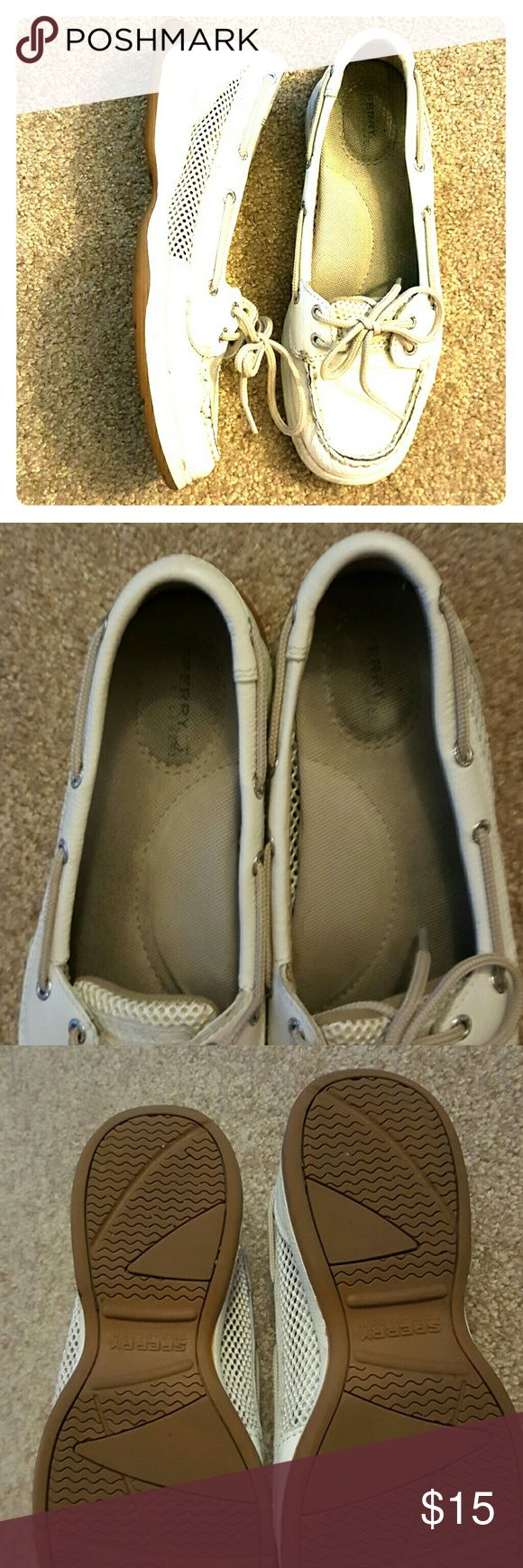 White Sperrys Light stains on the inside. Sperry Top-Sider Shoes