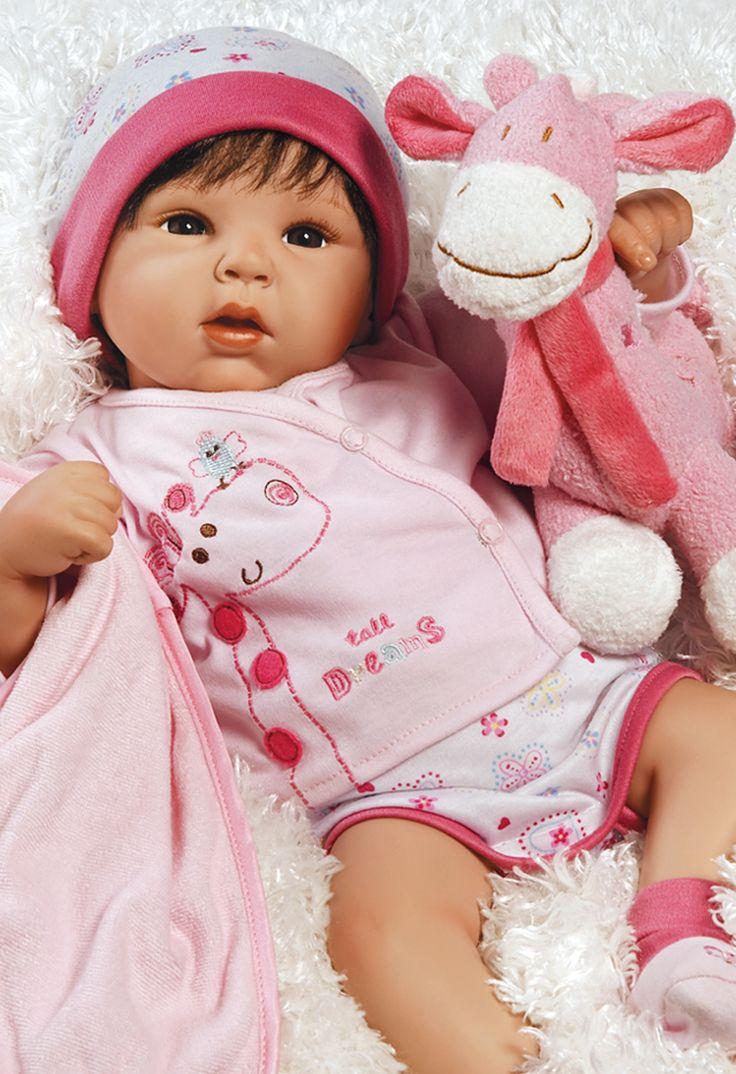 1)19 inch Realistic & Lifelike Baby Doll, Tall Dreams Ensemble, Ages 3+ 89,95 dollar