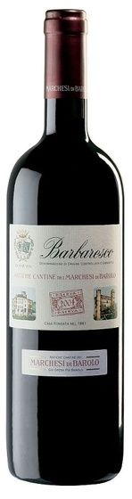 In stock - 39,89€ 2004 Marchesi di Barolo Barbaresco Riserva, red dry , Italy - 91pt Wine of garnet-red almost ruby colour. Aroma reminds blackberries with spicy undertone, enriched by bulb oil and baked chesnuts. Afte turning the glass we can sense tones of dark chocolate and marmelade. Taste is nicely structure, balanced and pleasantly tannins, spicy-earthy with robust aftertaste.