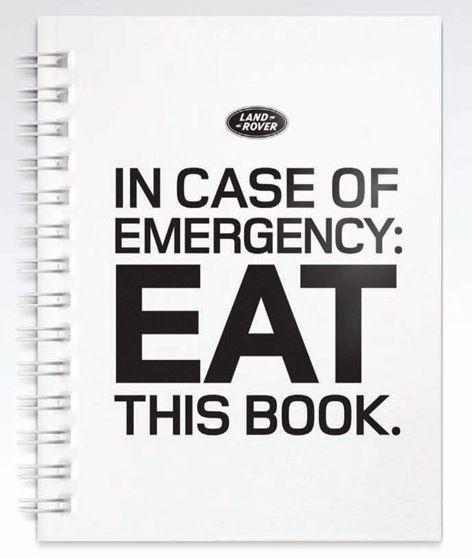 Land Rovers, Rovers Vehicle, Cases, Survival Guide, 12 Book, Book Design, Eatable Handbook, Eating Book, Deserts Edible