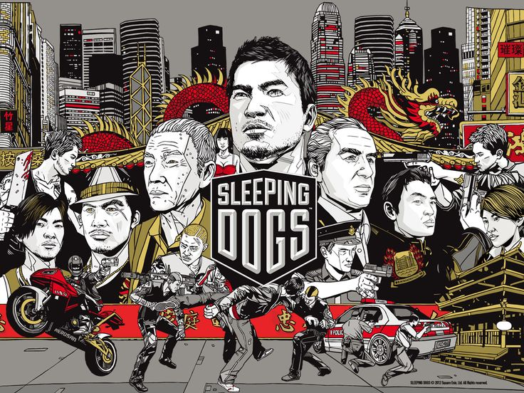Sleeping Dogs PS3 - Completed all challenges ~30 hours