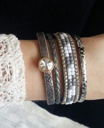 bracelet fantaisie tendance femme, l'idée cadeau original pour femme! Le bracelet incontournable de la saison à prix mini! Emballage cadeau offert! E