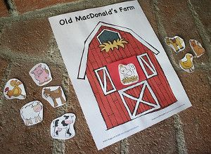 Free Printable Farm Animals Game | AllFreeKidsCrafts.com
