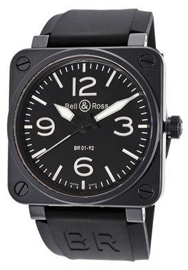 Bell & Ross BR01-92-BLACK Watch