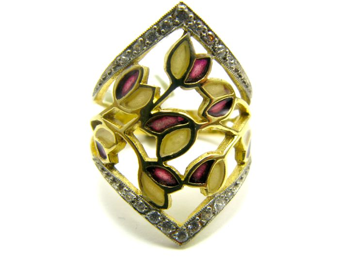 Gold Tulip Ring