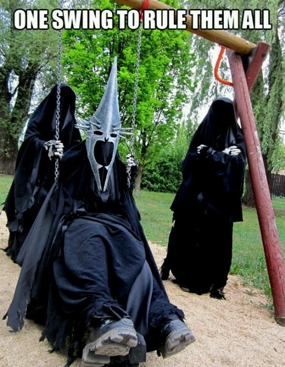 Ring wraiths day off