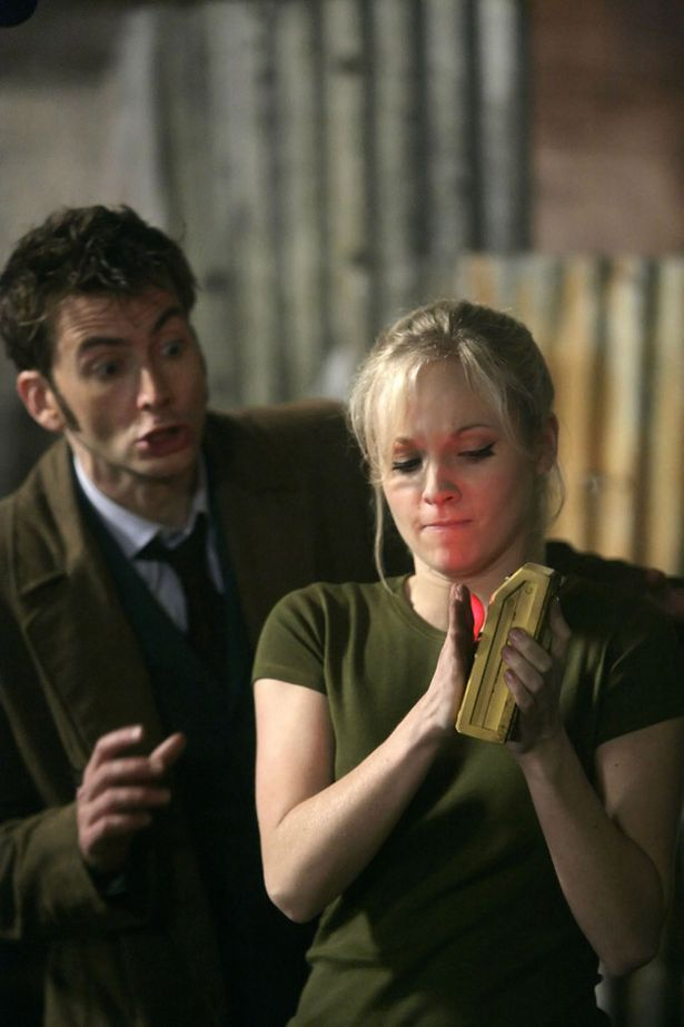Dr Who David Tennant | Doctor Who: DAVID TENNANT as The Doctor and GEORGIA MOFFETT as Jenny