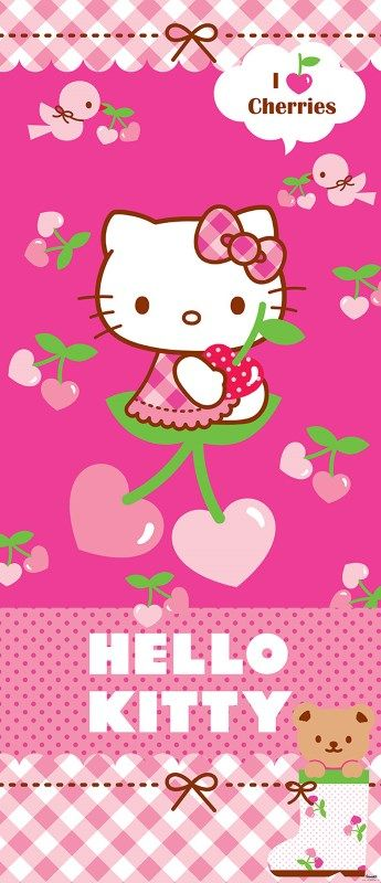 colant usa Hello Kitty cirese