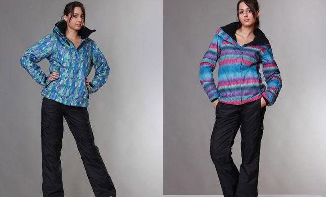Лыжные костюмы женские большой размер