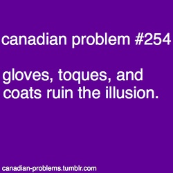 happy halloween from canadian problems! :D