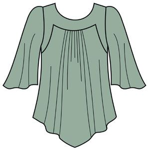 FREE!! PATTERNS! tunic large pattern and instructions..not in English..use translator..