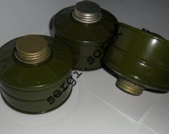 Russian Gas Mask Filter Canister GP-7k 40mm with gas mask box for gp-4/gp-5/ gp-7, 3 pcs 15,29 $ https://www.etsy.com/listing/238745417/russian-gas-mask-filter-canister-gp-7k?ref=shop_home_active_71  Russian Gas Mask Filter Canister GP-7k 40mm  with gas mask box for gp-4/gp-5/ gp-7, 3 pcs                                                                                                            15,29 $…