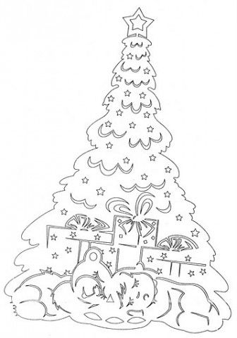 Decoratiunile mele de iarna la gradinita. Multumesc sabloane pentru.