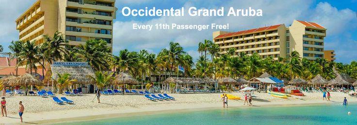 Occidental Grand Aruba - Group Travel Deal - https://traveloni.com/vacation-deals/occidental-grand-aruba-group-travel-deal/ #vacation #caribbean #aruba #grouptravel