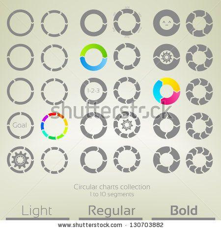 14 best Circular graph images on Pinterest Graphics, Info - flow sheet templates