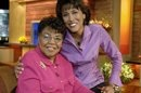 "This 2006 photo released by ABC shows ""Good Morning America"" co-host Robin Roberts, right, with her mother Lucimarian Roberts on the set in New York. Hundreds of people waited in line for an hour or more to pay their respects to the late Lucimarian Roberts, a leader on Mississippi's Gulf Coast for more than 40 years and the mother of ABC's ""Good Morning America"" co-host Robin Roberts. A private funeral is scheduled Wednesday, with burial at the Biloxi National Cemetery next to her husband…"