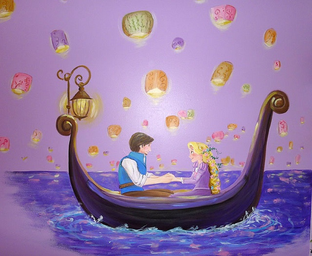 25 best ideas about princess mural on pinterest for Disney princess mural asda