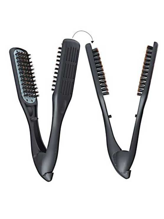Denman Thermo Ceramic Straightening Brush Natural Hair