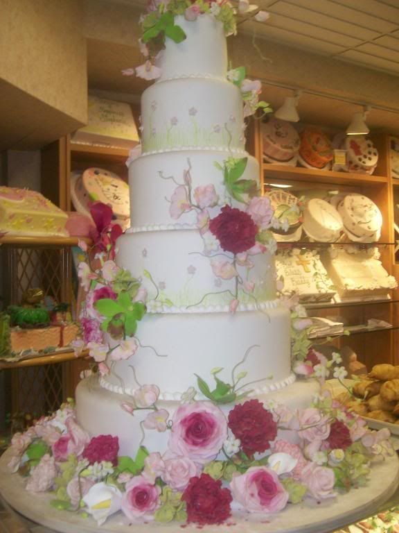 Buddys Wedding Cake That Won 1st Prize At The Food Network Challenge